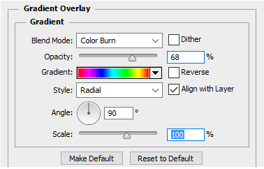 Gradient with Color Burn Blend Mode settings.PNG